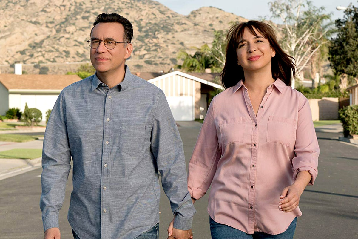 """Fred Armisen and Maya Rudolph in """"Forever"""""""