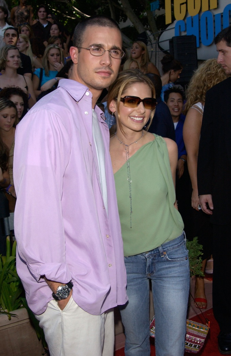 Freddie Prinze Jr. and Sarah Michelle Gellar in 2001