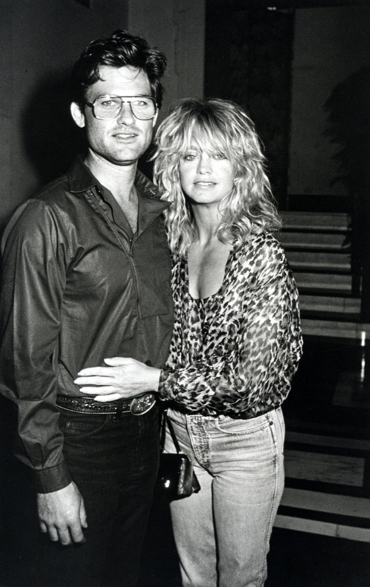 Kurt Russell and Goldie Hawn in 1983