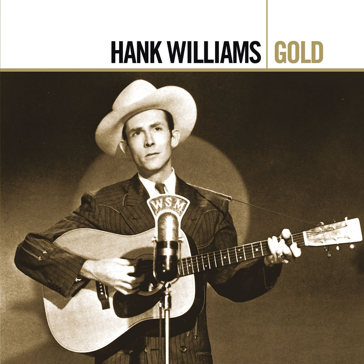 """Hank Williams """"Gold"""" album cover"""
