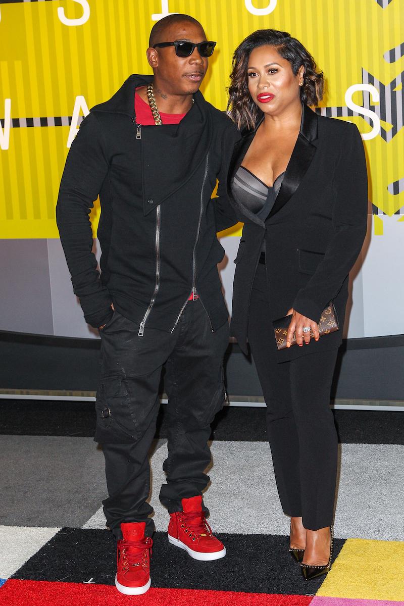 Ja Rule and Aisha Atkins at the 2015 MTV Video Music Awards