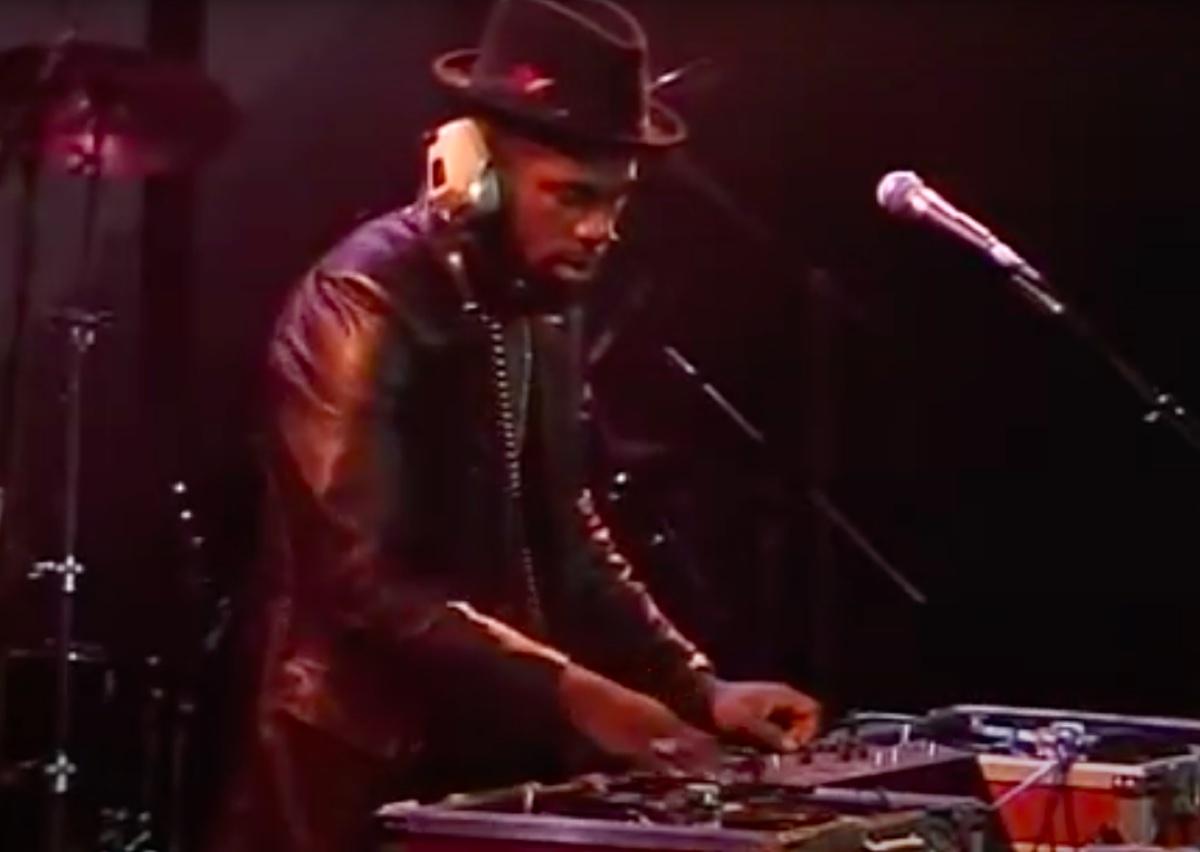 Jam Master Jay performing