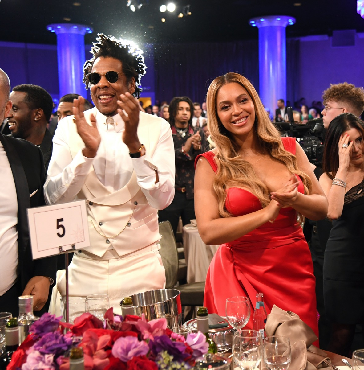 Jay-Z and Beyonce in 2020
