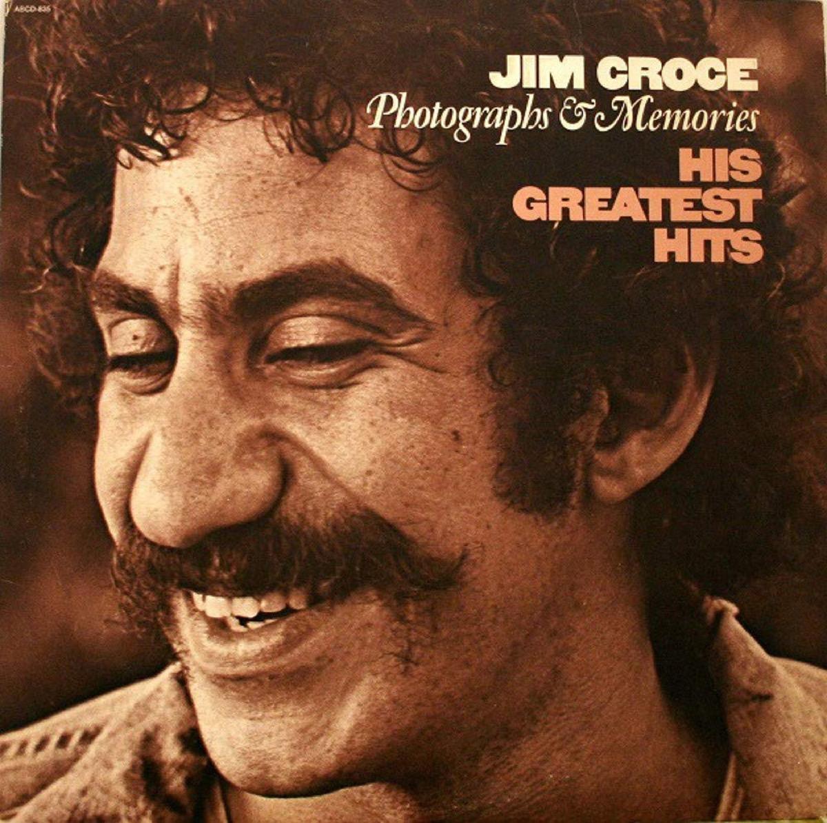 "Jim Croce ""Photographs and Memories"" album cover"