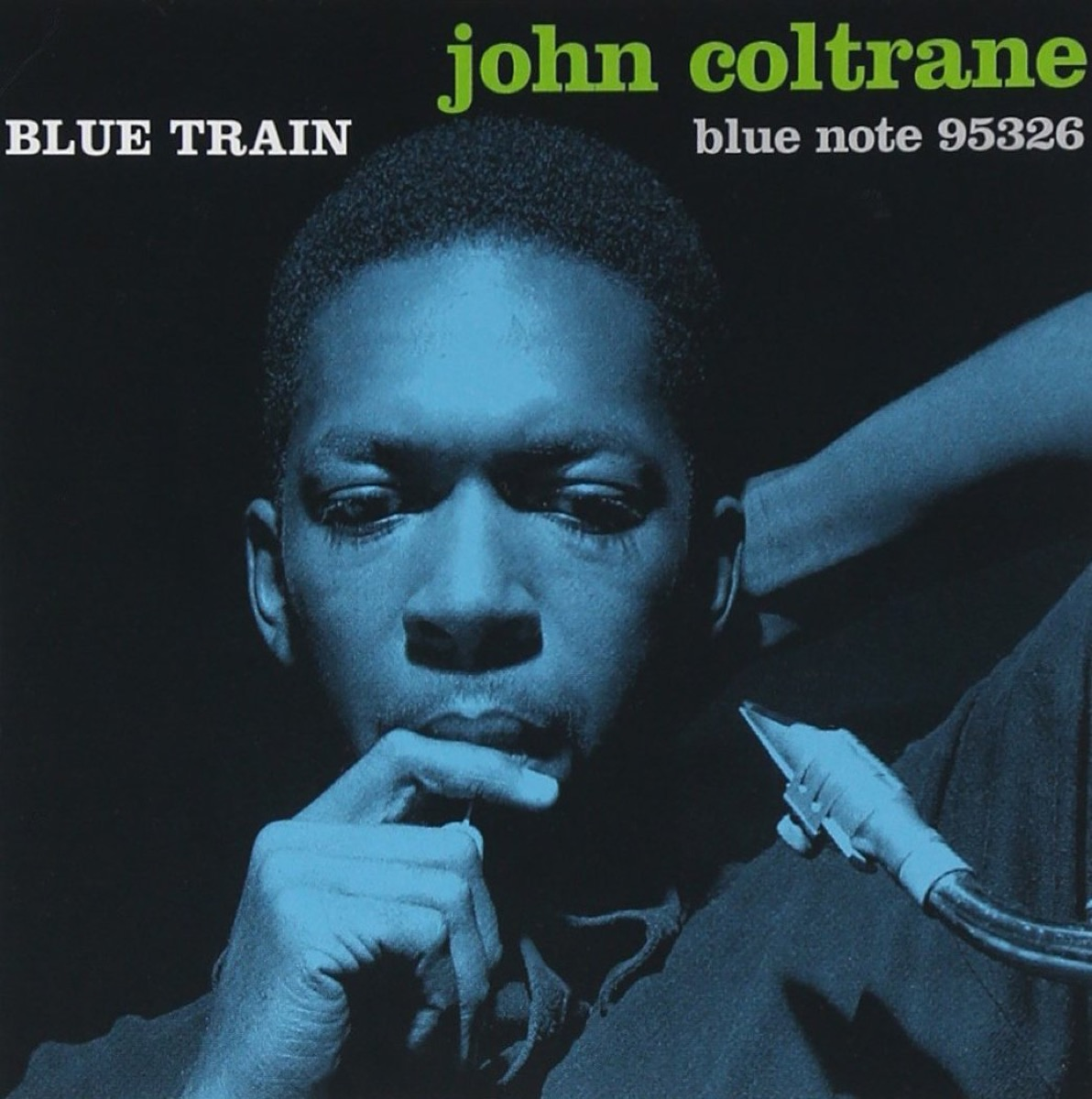 "John Coltrane ""Blue Train"" album cover"