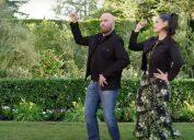 John Travolta and Ella Travolta in their Super Bowl ad