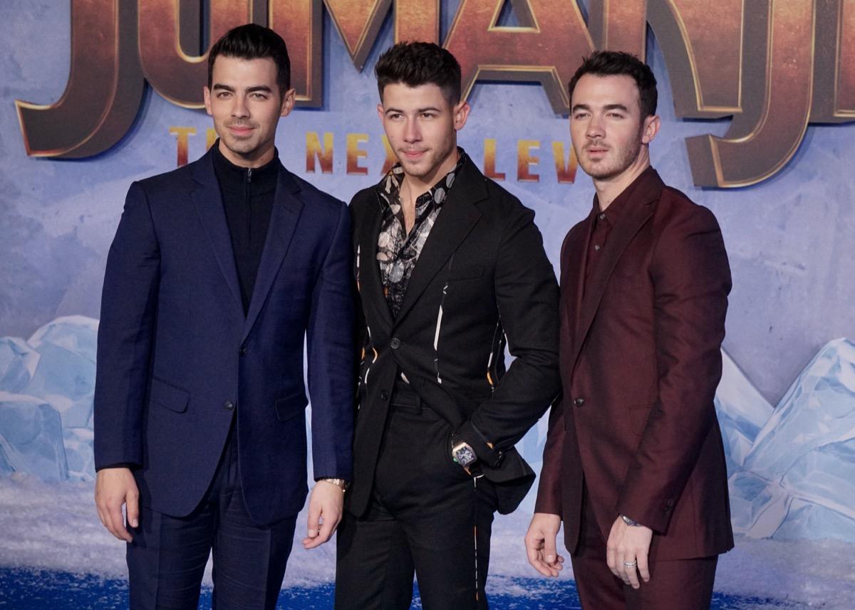 Joe, Nick, and Kevin Jonas
