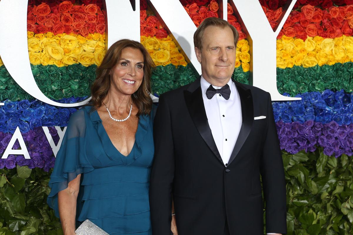 Kathleen Treado and Jeff Daniels at the 2019 Tony Awards