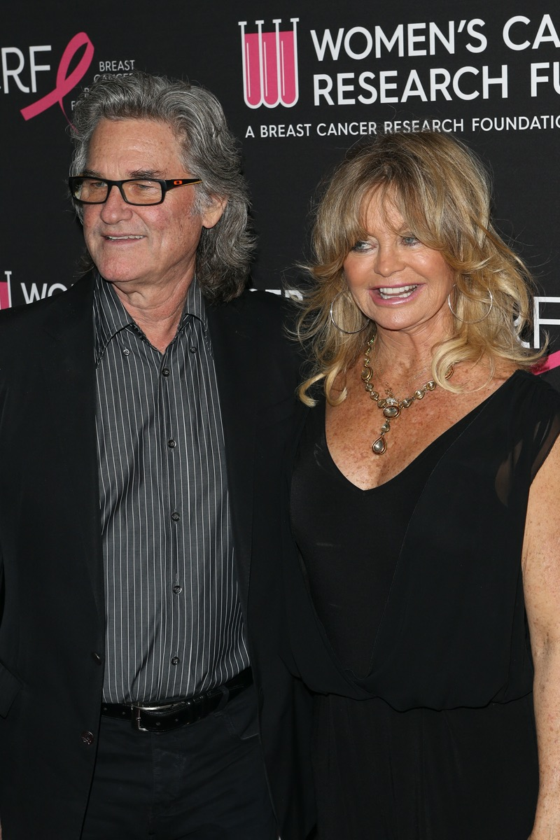 Kurt Russell and Goldie Hawn in 2019