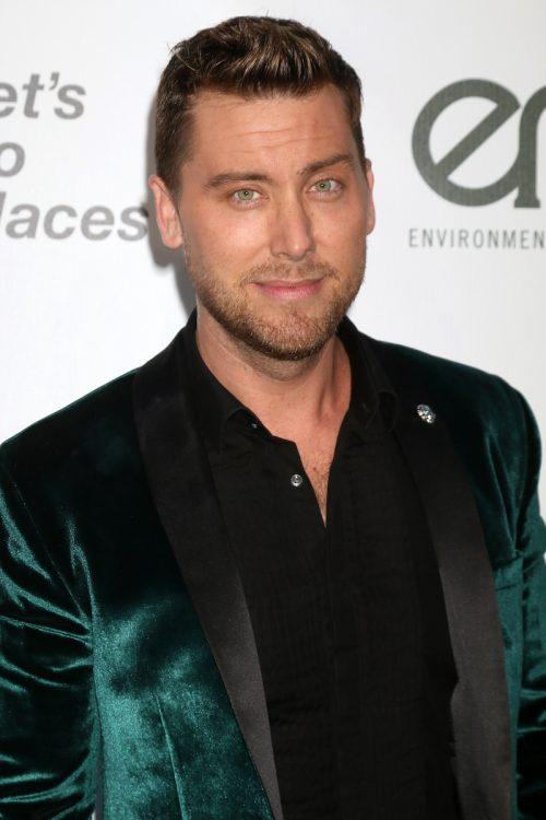 Lance Bass at the Environmental Media Awards in 2016