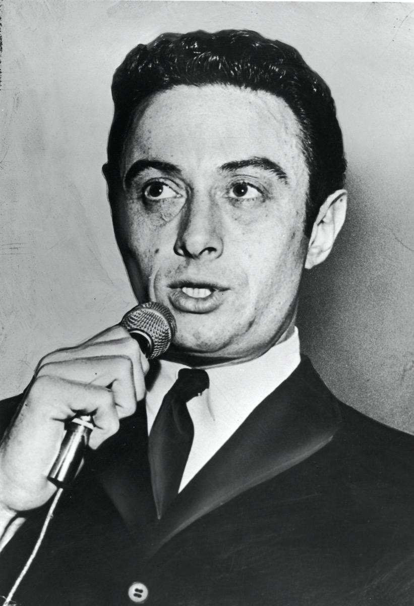 Lenny Bruce performing
