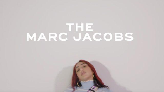 Lourdes Leon modeling for Marc Jacobs