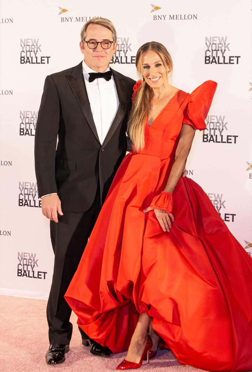Matthew Broderick and Sarah Jessica Parker in 2018