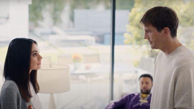 Mila Kunis Ashton Kutcher super bowl ad