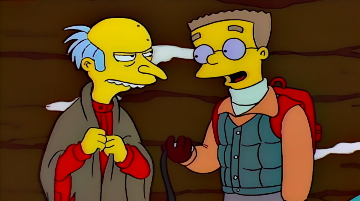 Mr. Burns and Smithers