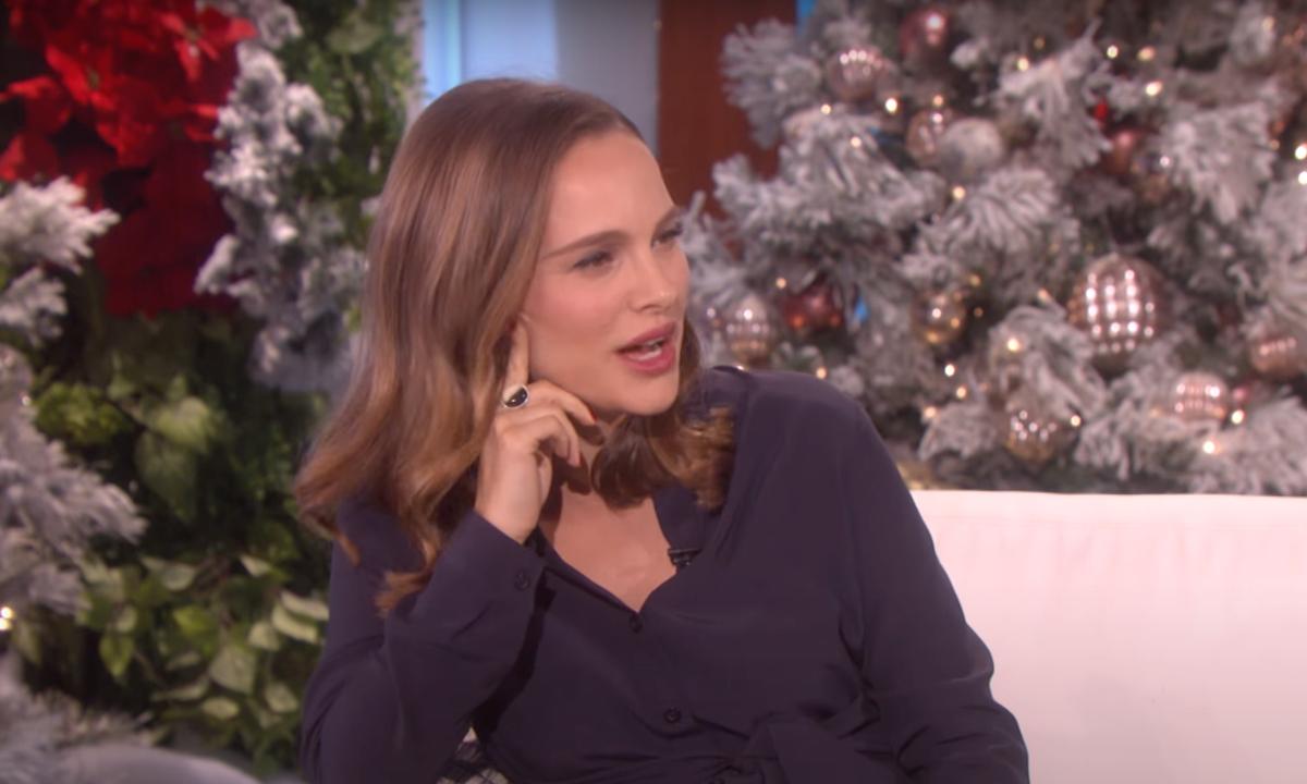 Natalie Portman Ellen Show