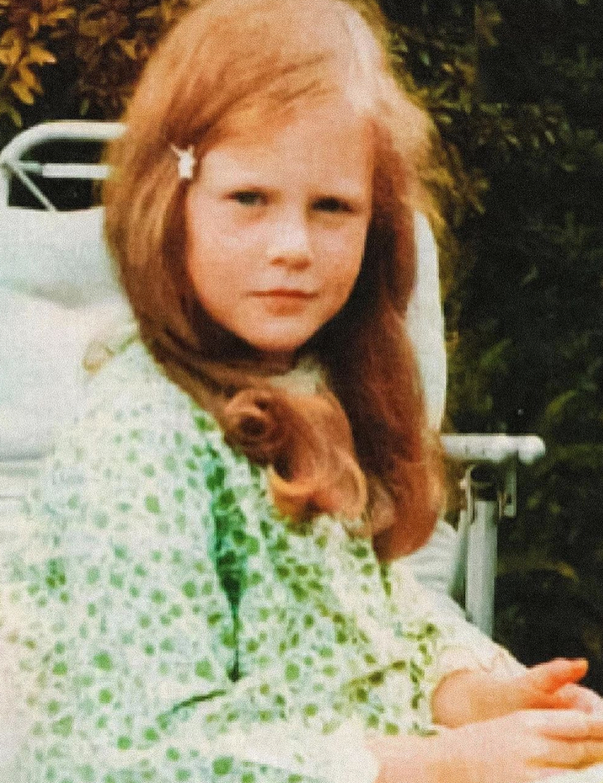 Nicole Kidman as a child