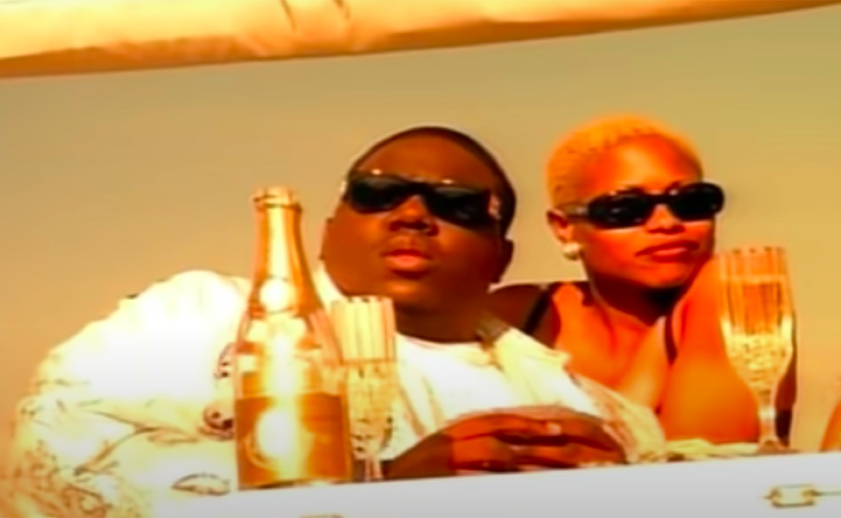 """Notorious BIG in the """"Hypnotize"""" video"""