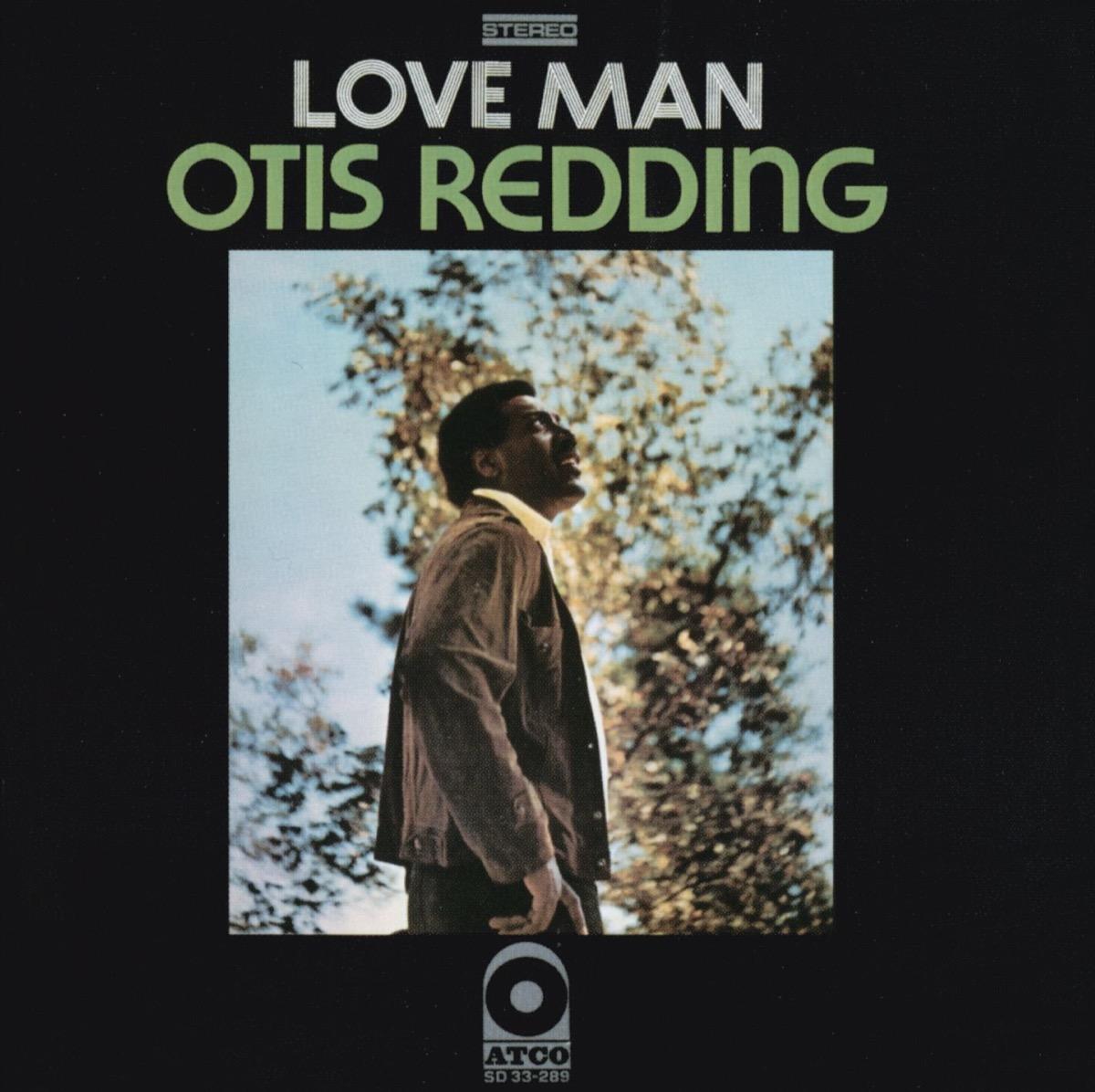 """Otis Redding """"Love Man"""" album cover"""