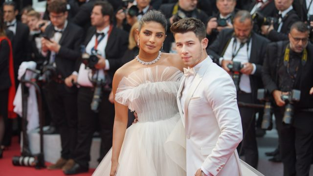 Priyanka Chopra and Nick Jonas at the Cannes Film Festival in 2019