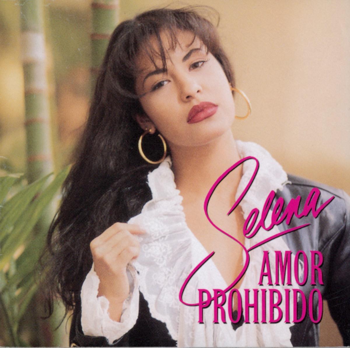 """Selena """"Amor Prohibido"""" album cover"""