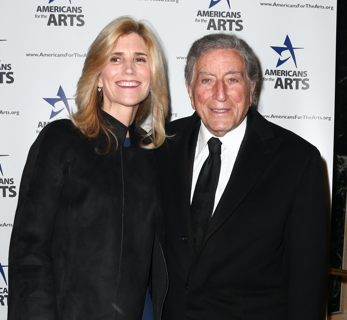 Susan Bendetto and Tony Bennett