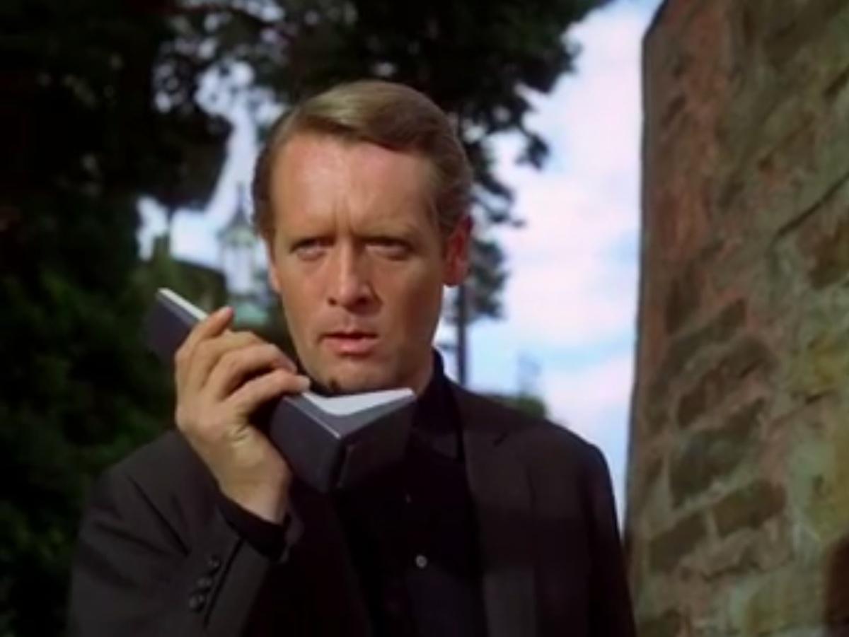 Patrick McGoohan in The Prisoner