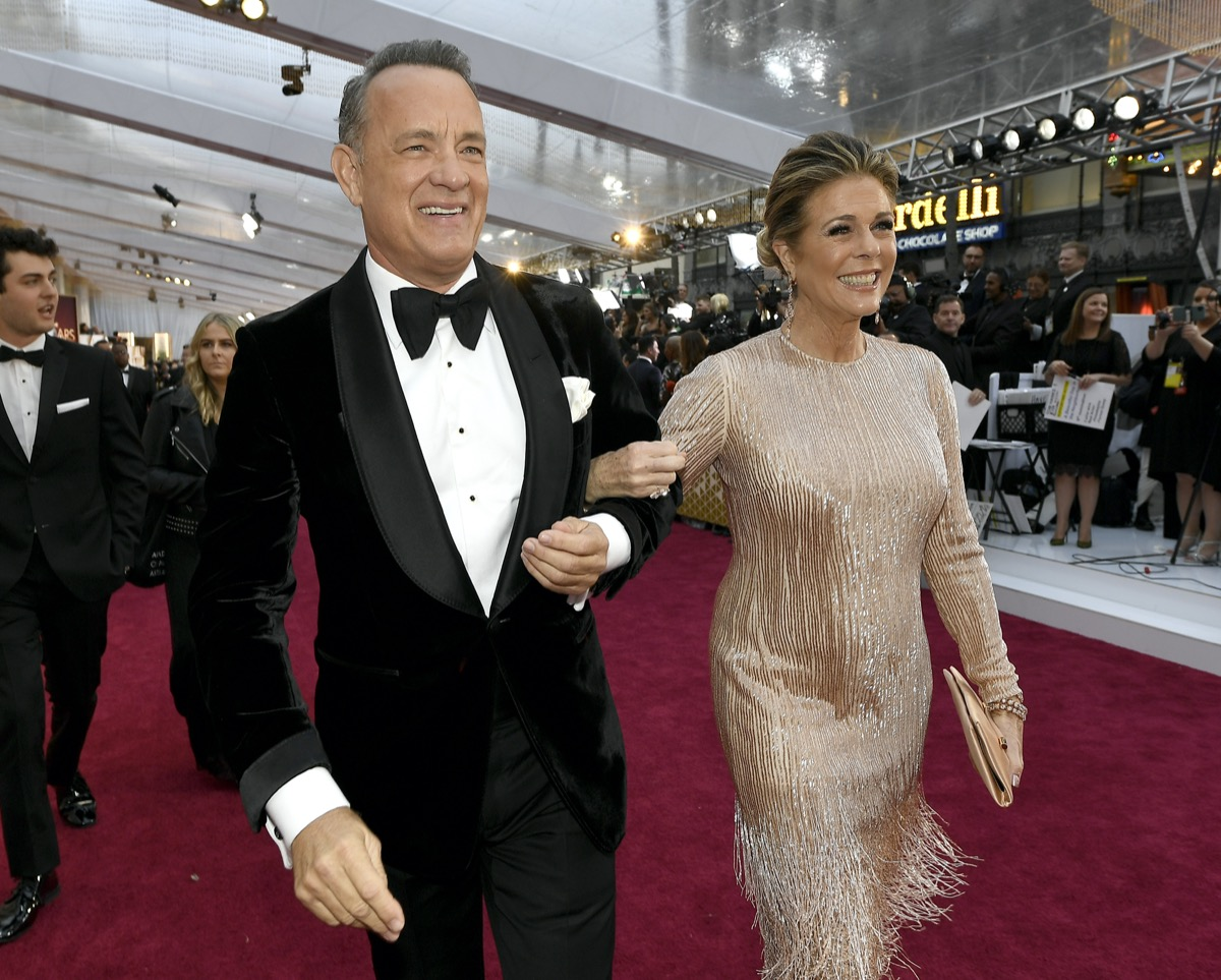 Tom Hanks and Rita Wilson in 2020