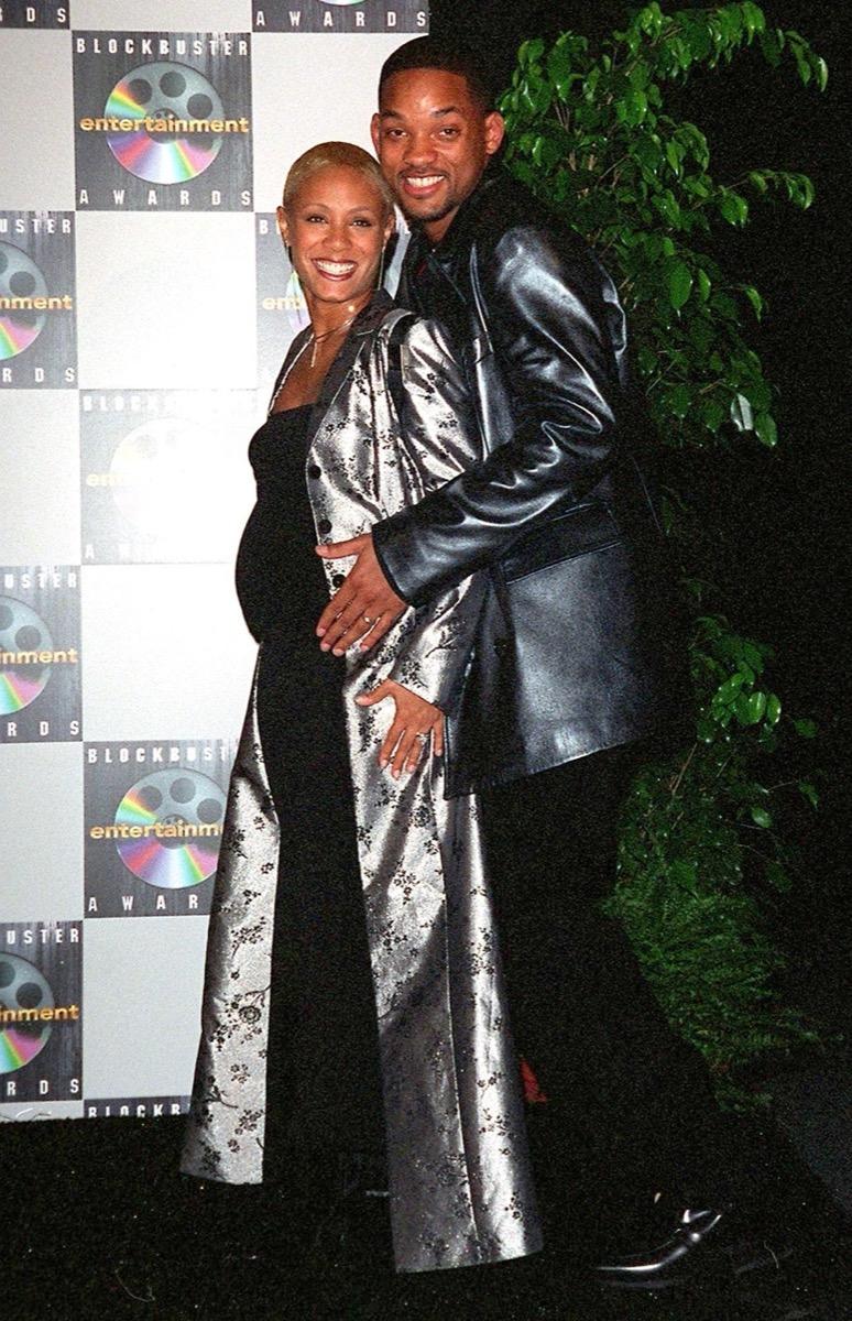 Will and Jada Pinkett Smith in 1998