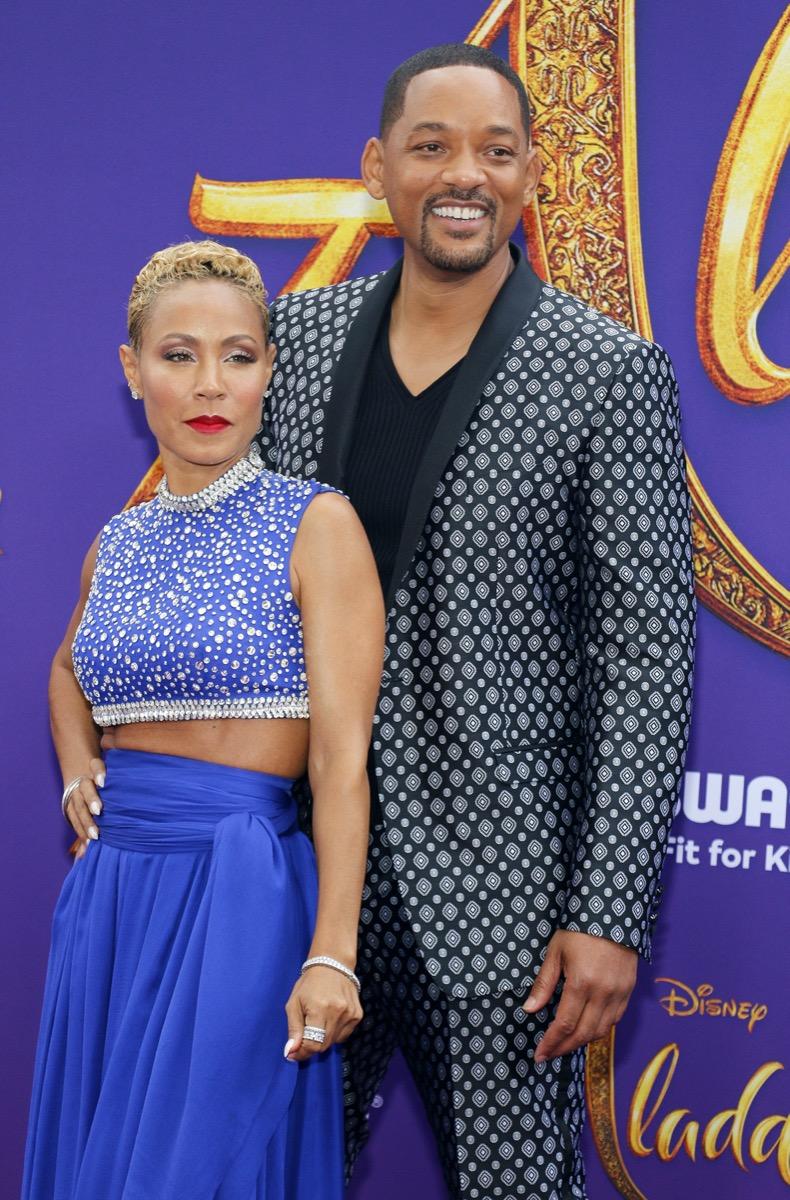 Will and Jada Pinkett Smith in 2019