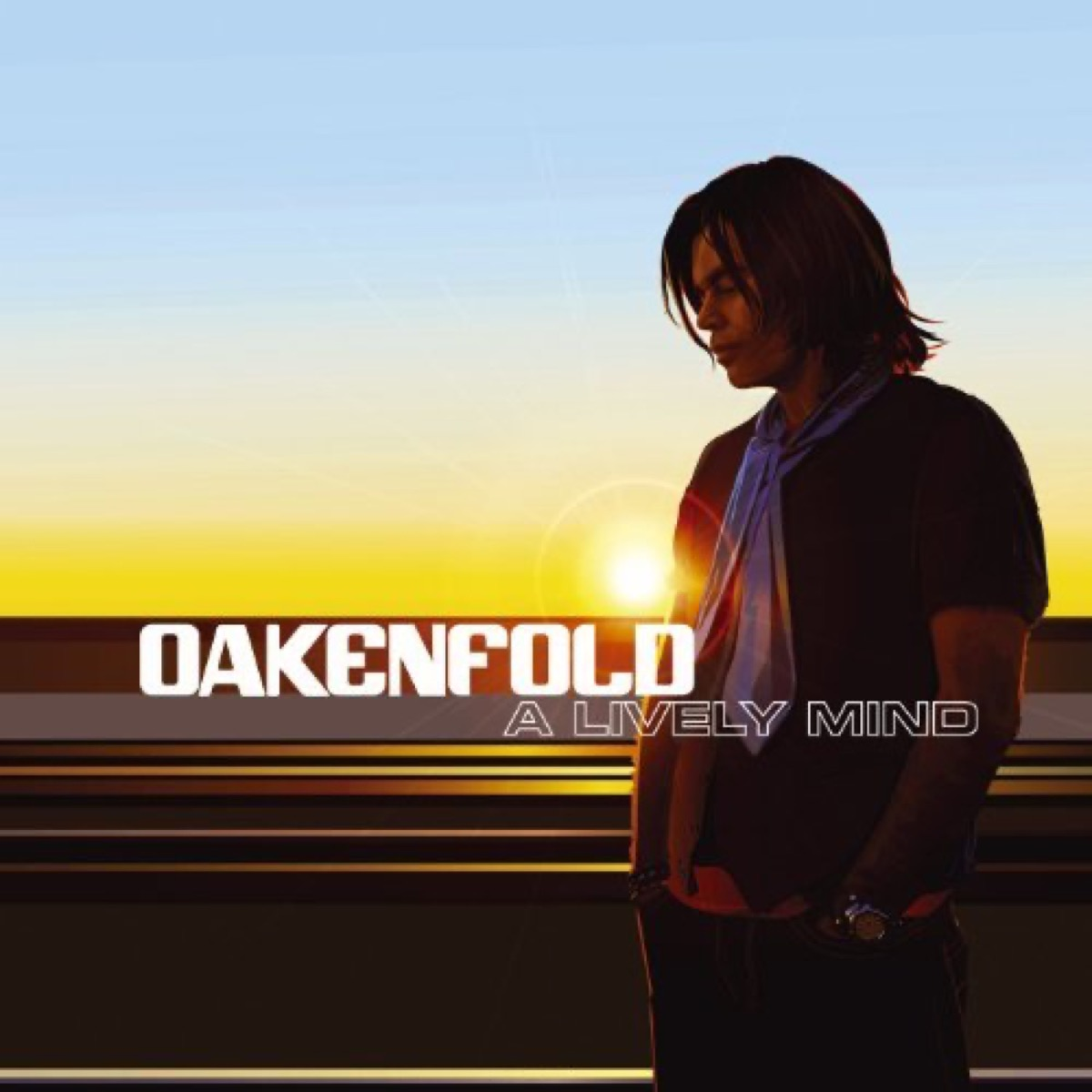 """The album cover for """"Lively Mind"""" by Paul Oakenfold"""