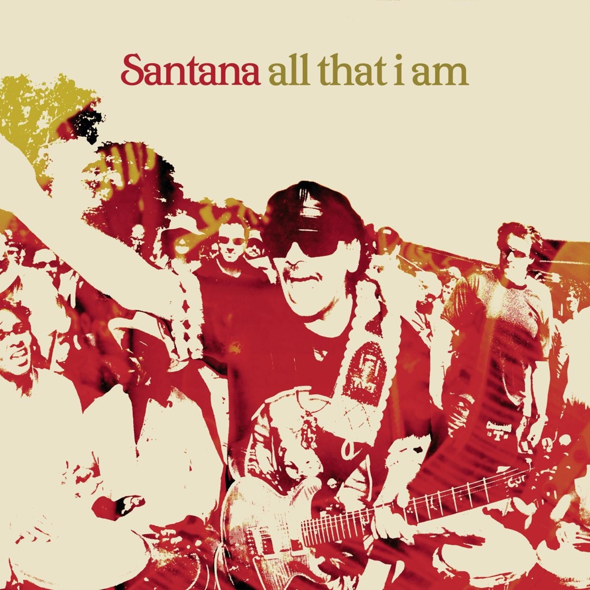 """Album cover of """"All That I Am"""" by Santana"""