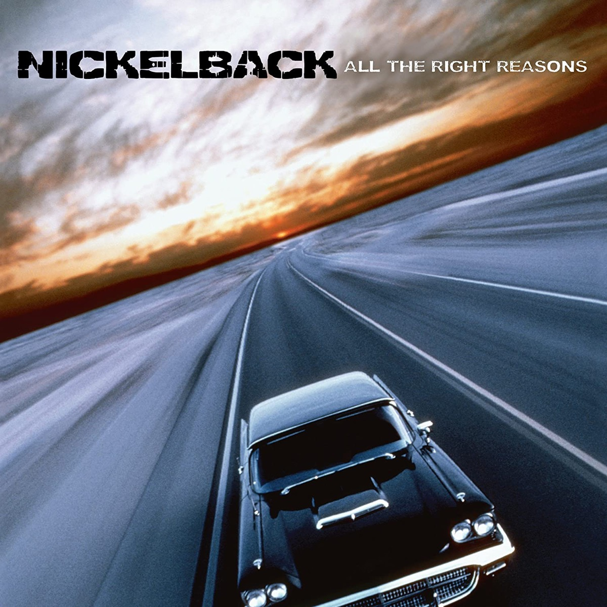"""Album cover of """"All The Right Reasons"""" by Nickelback"""
