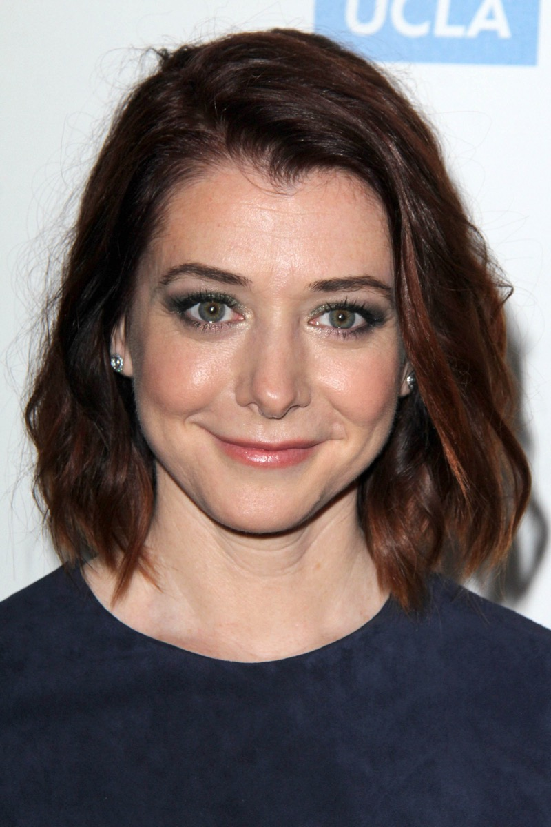 """Alyson Hannigan at """"Taste For a Cure"""" event in 2014"""