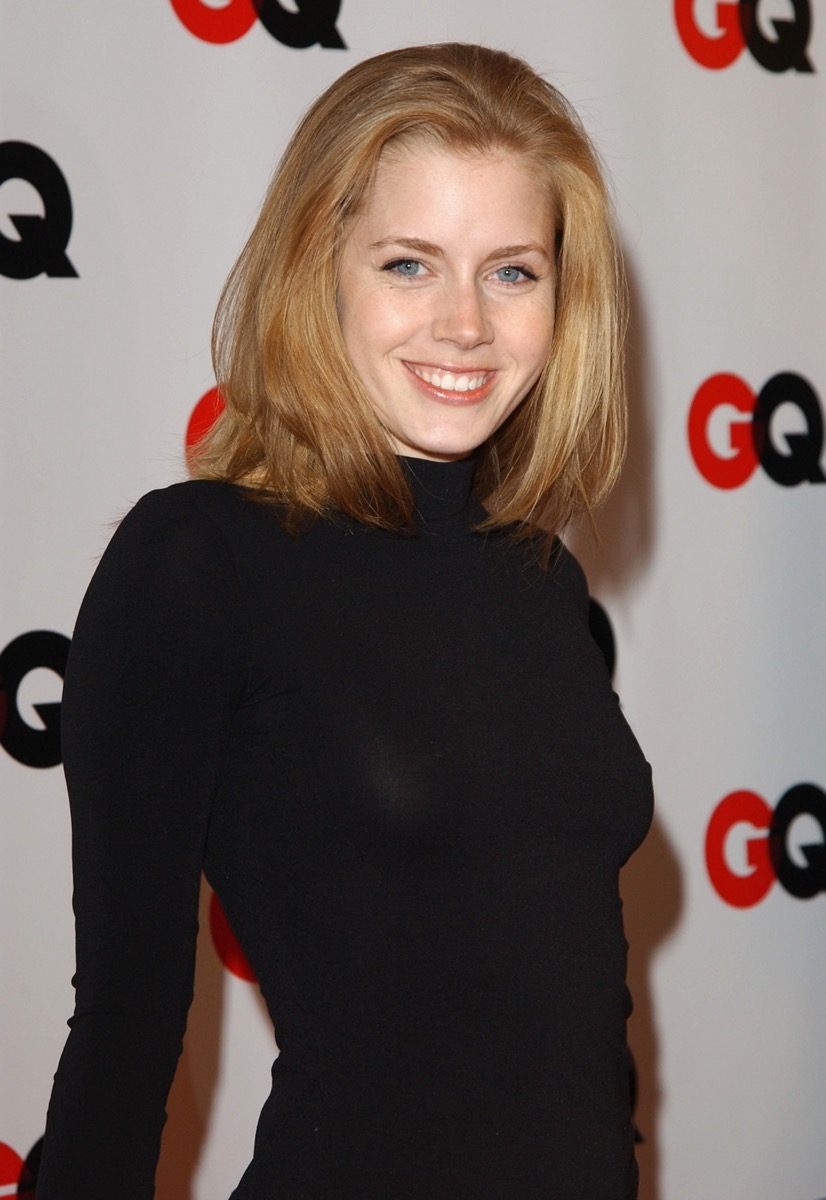 """Amy Adams at the """"GQ Magazine Celebrate Their Annual Hollywood Issue"""" event in 2003"""