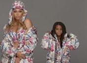 Blue Ivy and Beyonce for Ivy Park x Adidas