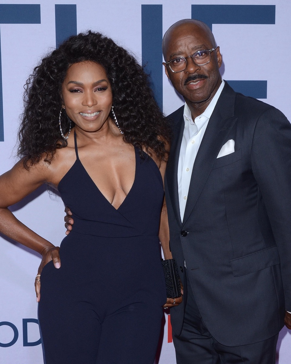 Angela Bassett and Courtney B. Vance at the premiere of 'Otherhoo' in 2019