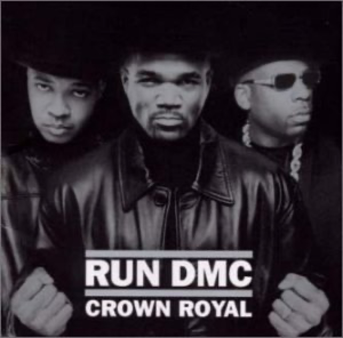 """The album cover of """"Crown Royal"""" by Run-D.M.C."""