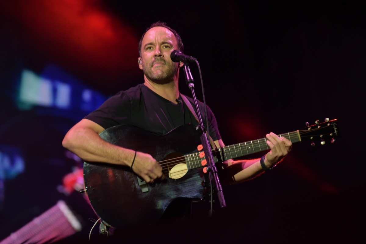 Dave Matthews Band performing in Charlottesville, Virginia in 2019