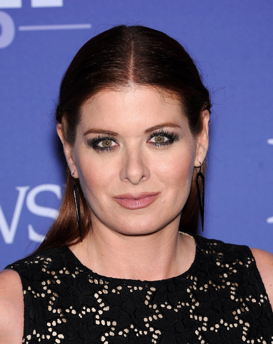 Debra Messing at the Women in Women Film's Crystal + Lucy Awards in 2013