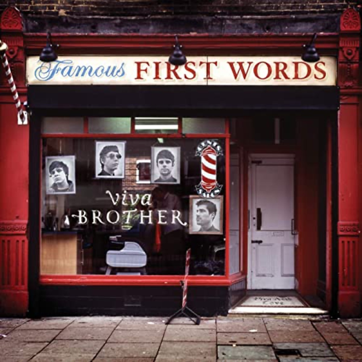 """The album cover of """"Famous First Words"""" by Viva Brother"""