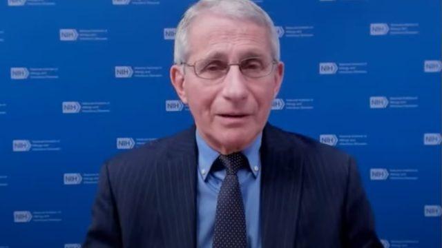 Fauci talks about double masking on The Washington Post Live