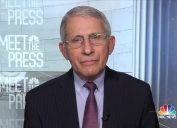 """Fauci talks about delaying second doses on """"Meet the Press"""" on Jan. 7"""