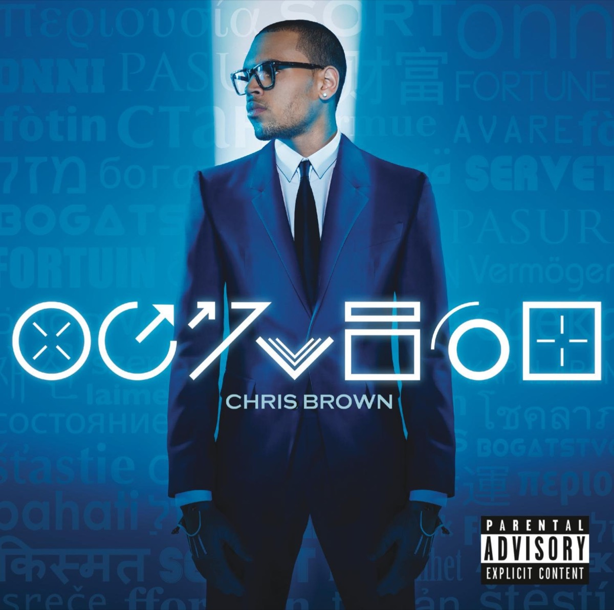 """The album cover of """"Fortune"""" by Chris Brown"""