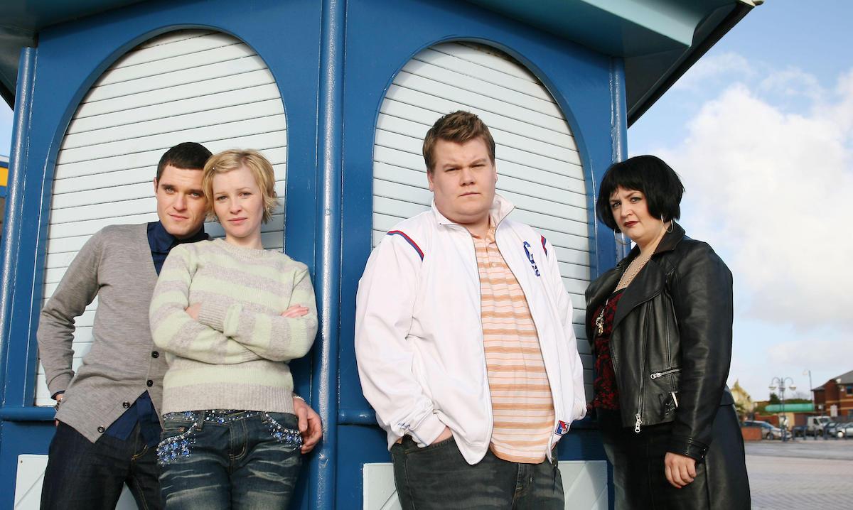 Gavin & Stacey starring Mathew Horne, Joanna Page, James Corden, and Ruth Jones