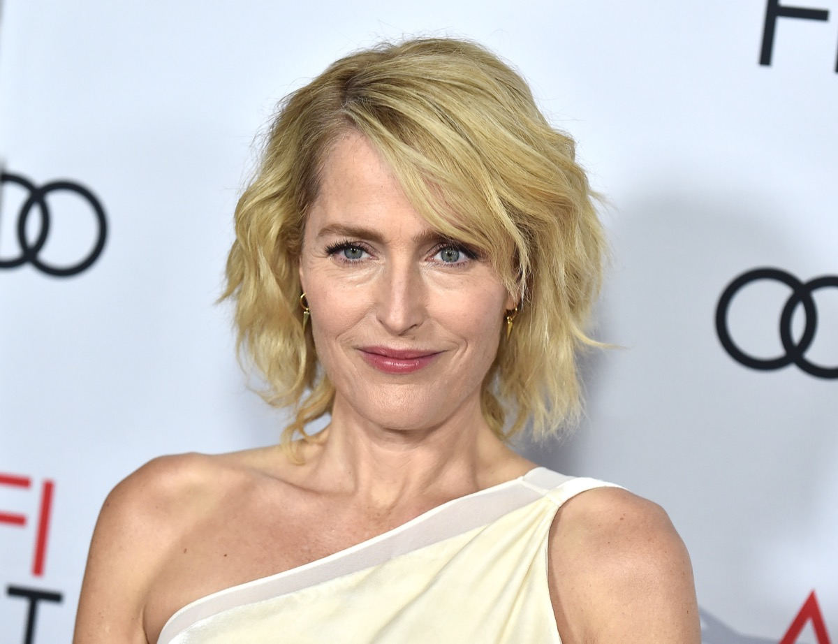 """Gillian Anderson at the AFI Fest """"The Crown"""" Gala Screening in 2019"""