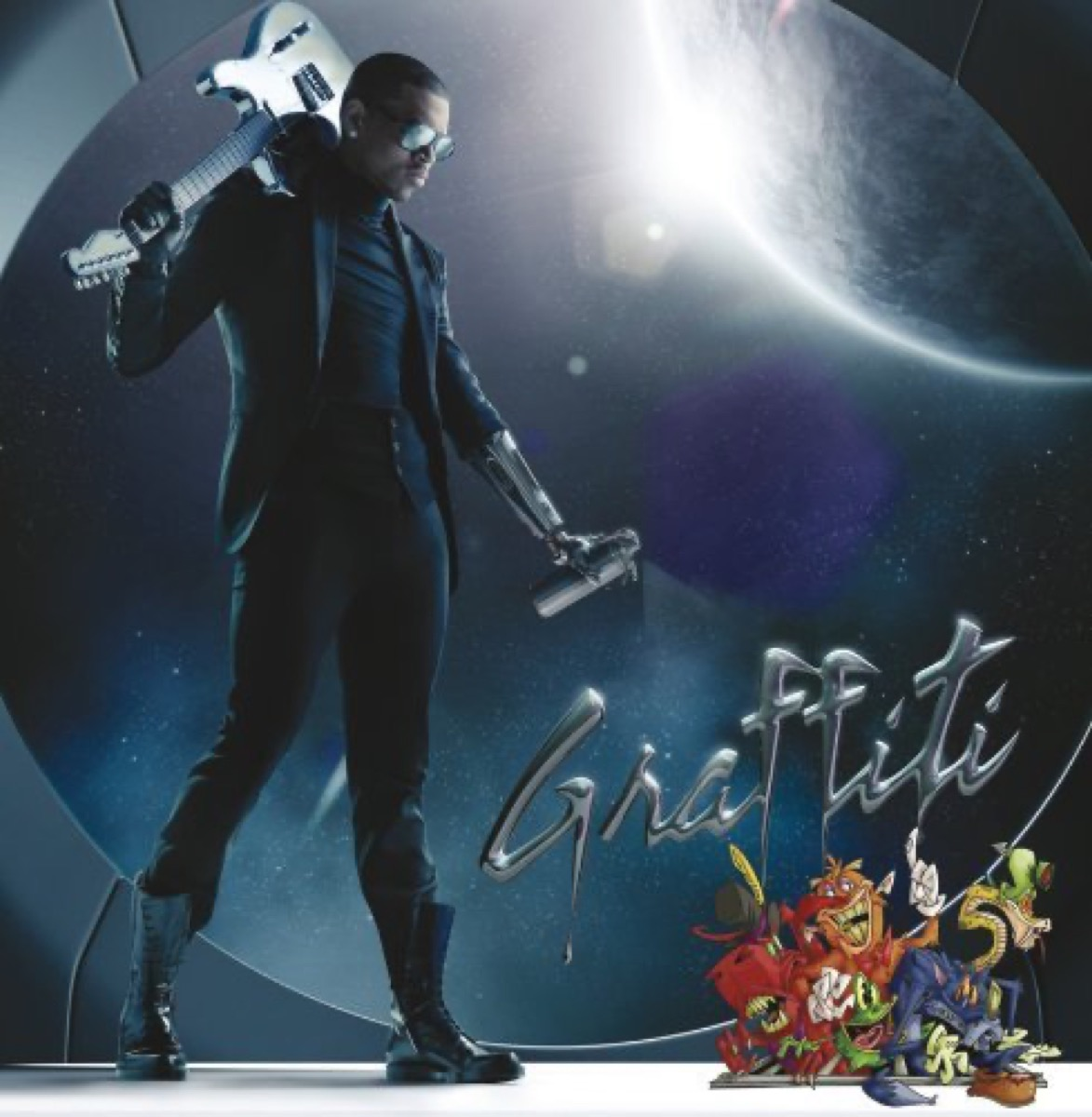 """The album cover of """"Graffiti"""" by Chris Brown"""