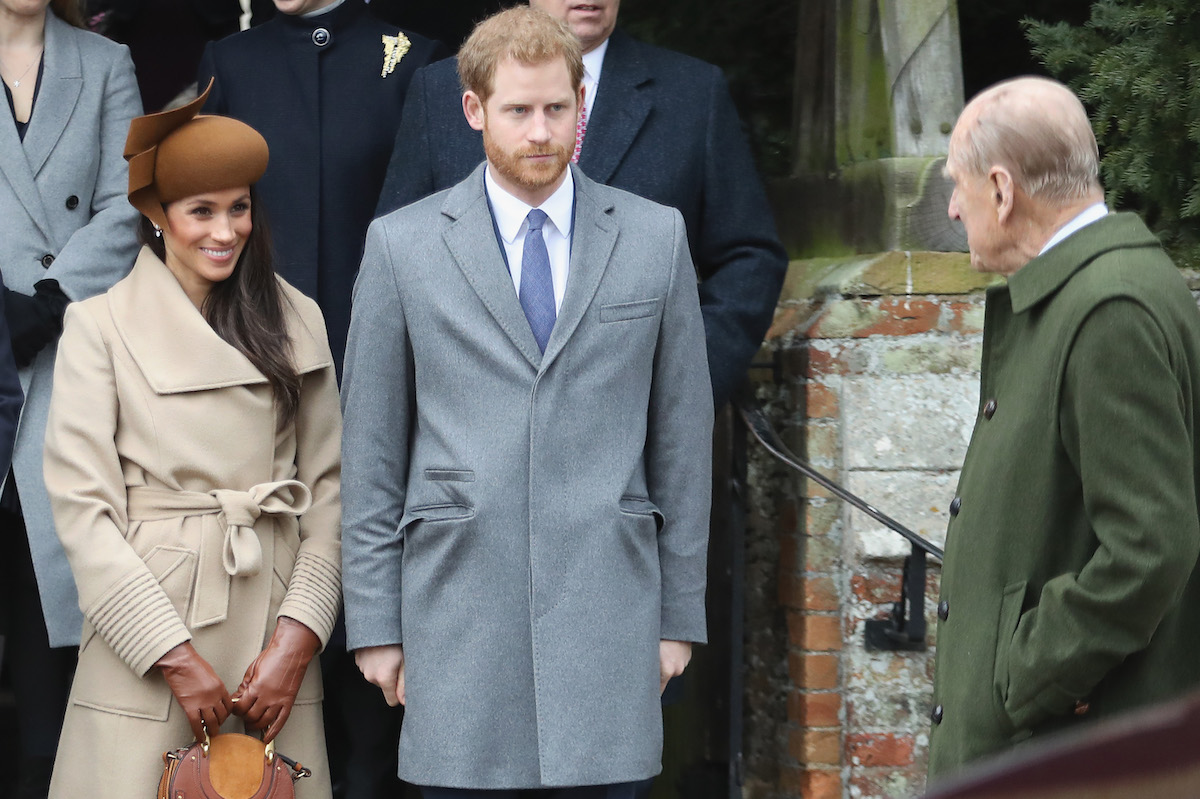 Royal Family attends Christmas Day Church service at Church of St Mary Magdalene on December 25, 2017 in King's Lynn, England.