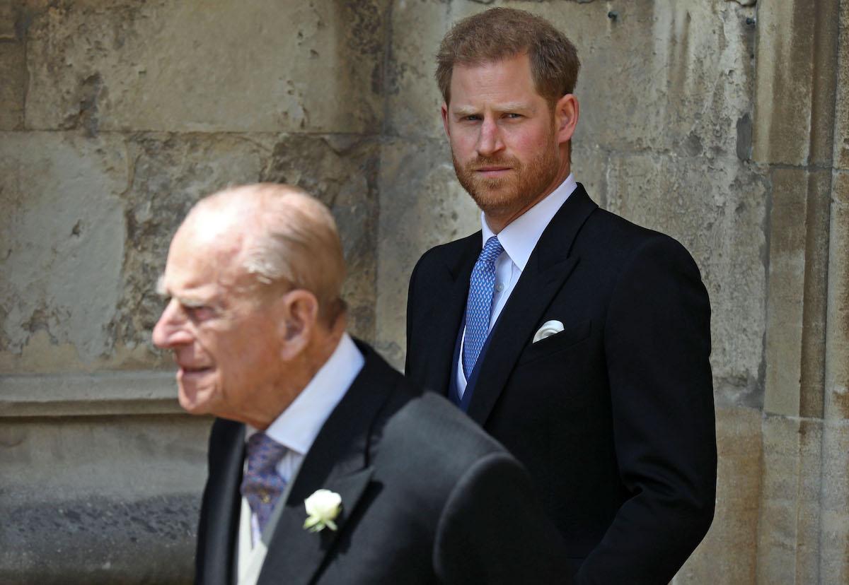 The Duke of Edinburgh and the Duke of Sussex