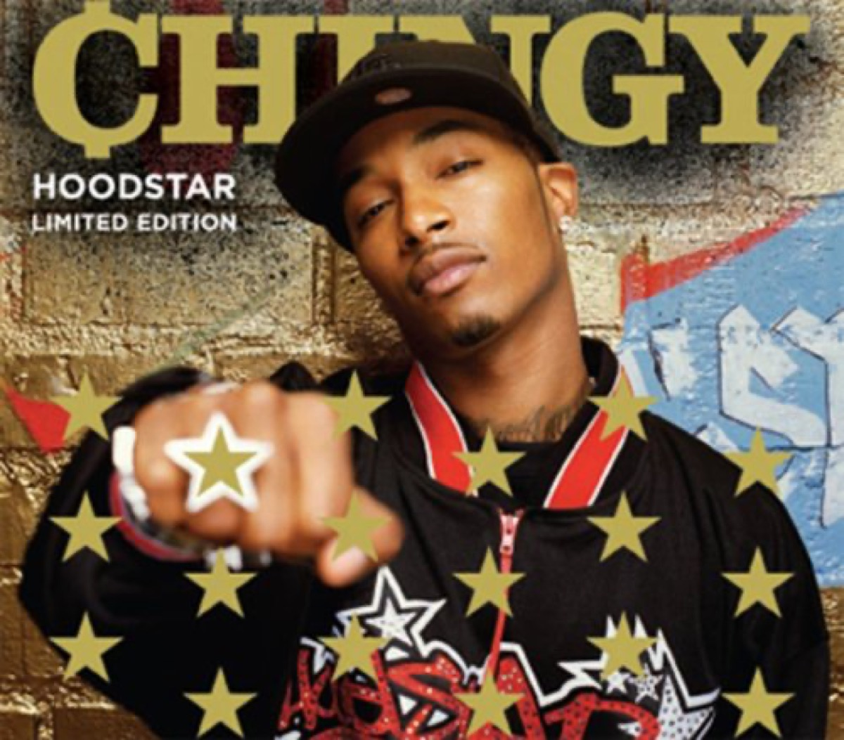 """The album cover of """"Hoodstar"""" by Chingy"""